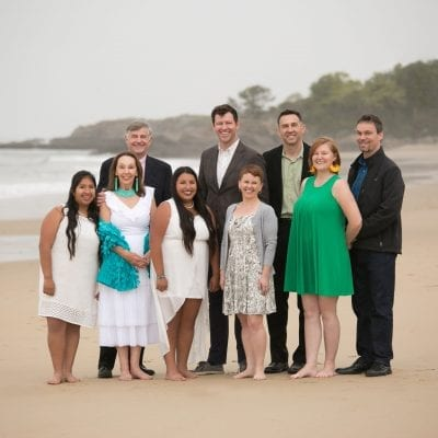 Family Portrait, Outdoor Family Portrait, Photographer, Louise Michaud Photographer, Beach Photographer, Beach Photography