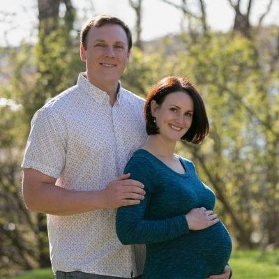 Maternity Family Portrait, Outdoor Family Portrait, Salem Mass Photographer, Louise Michaud Photographer, Maternity Photographer,Photography