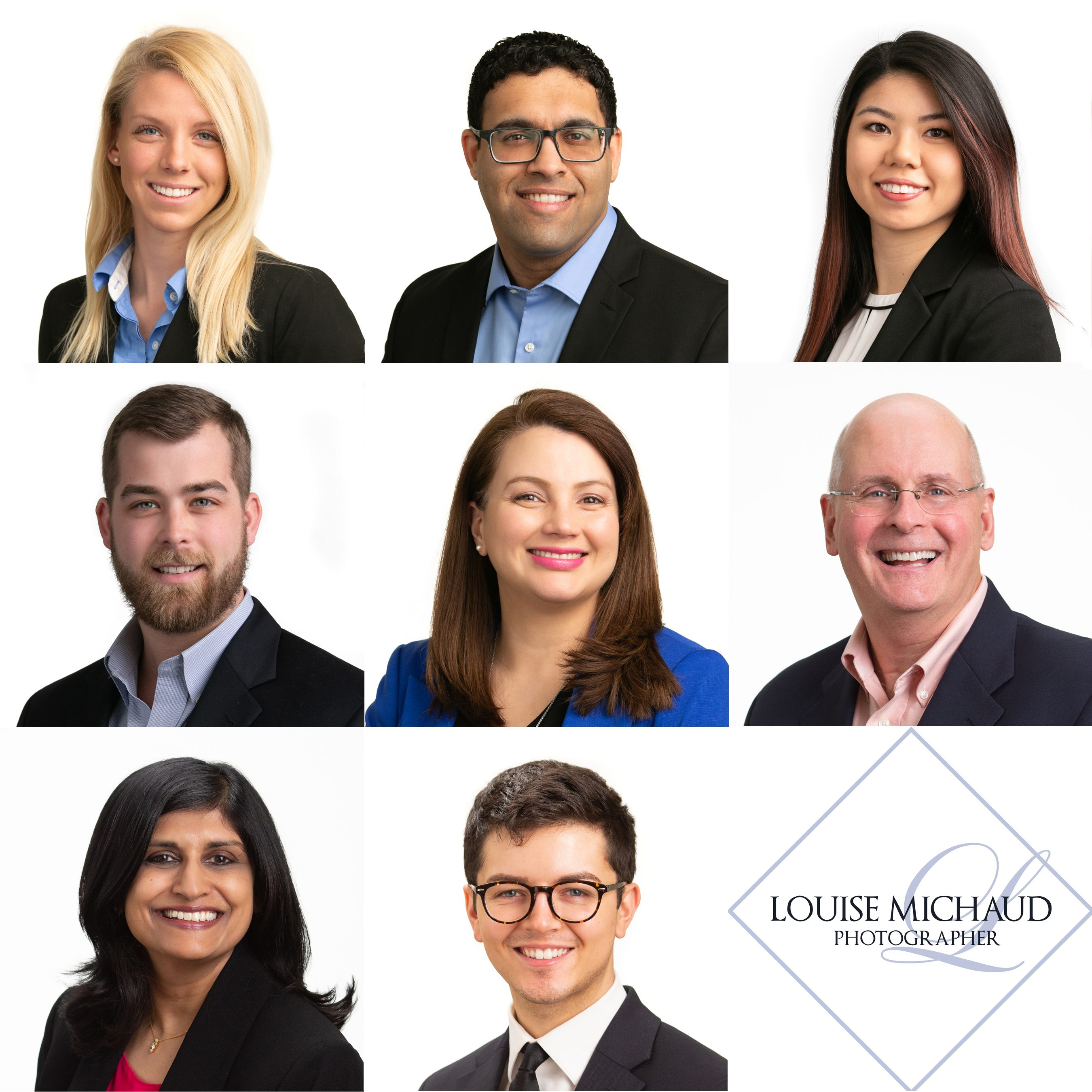 Group of business headshots.