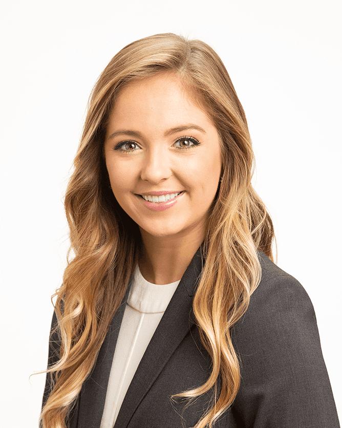 Corporate headshot young woman